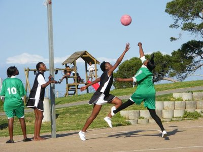 first match of Nemato Netball Club