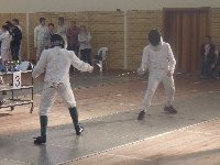 fencing competition in Bonnievale