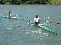 Under 15 boys at Buffalo Regatta