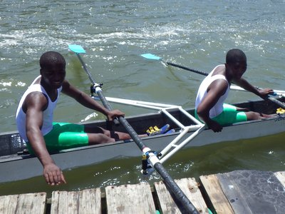 Under 16 boys at Buffalo Regatta
