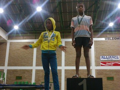 winning medals at Eastern Cape Champs