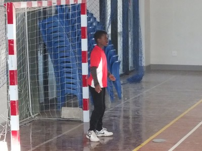 Nemato's top handball payer Mbiko