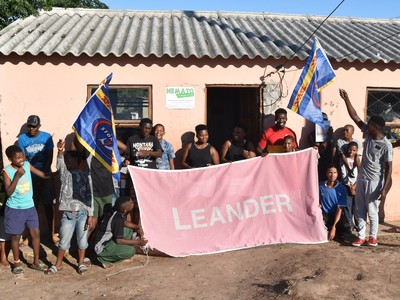 Nemato gets the original Leander flag
