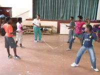 fencing camp in George
