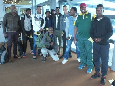 Lihle on his way to Mauritius
