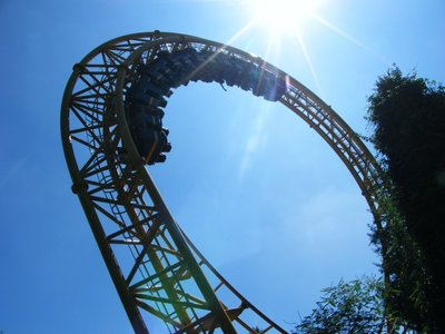 Golden Loop at Gold Reef City