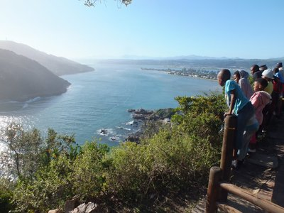 sightseeing: the Heads in Knysna