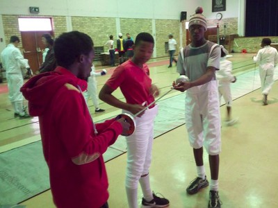 fencing competition in Port Alfred