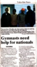"Talk of the Town: "" Young Gymnasts are going on Nationals"""