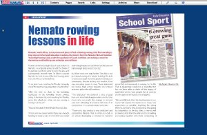 "Talk of the Town: ""Nemato steps up its training"""
