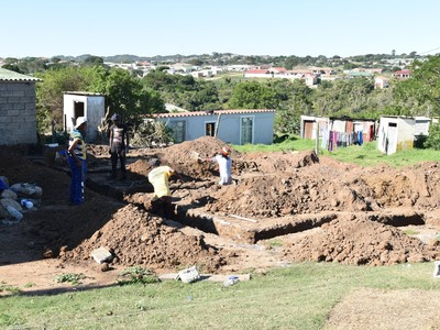 start of the building process in our township