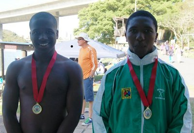 Lindokuhle and Buhle Eastern Cape Champion U16 double