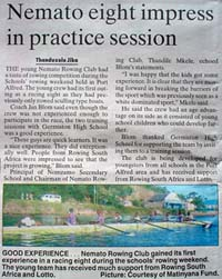 Talk of the Town: Nemato eight impress in practice session
