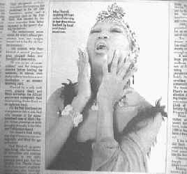 Miss Thandi in Pretiora Post and The Star